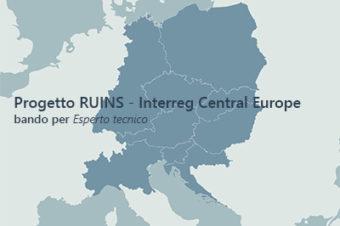 Progetto RUINS – Interreg Central Europe. Bando per un Esperto tecnico