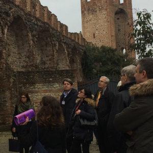 Ruins. Study visit Montagnana