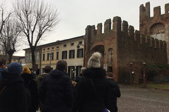Ruins Project. Study visit in Montagnana